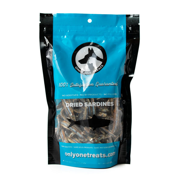 Only One Treats Dried Sardines Dog & Cat Treats