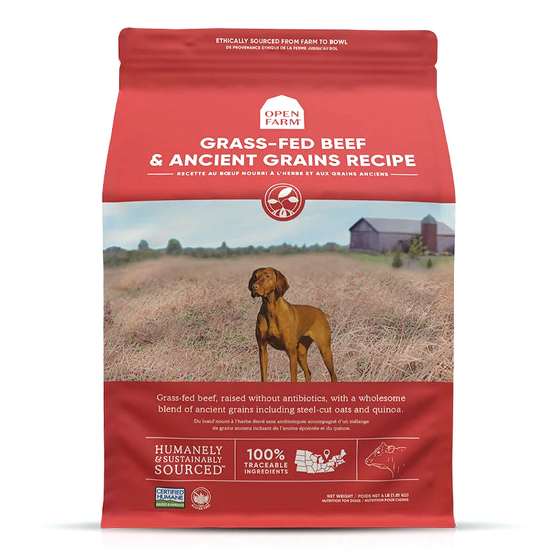 Open Farm Grass-Fed Beef & Ancient Grains Dog Food