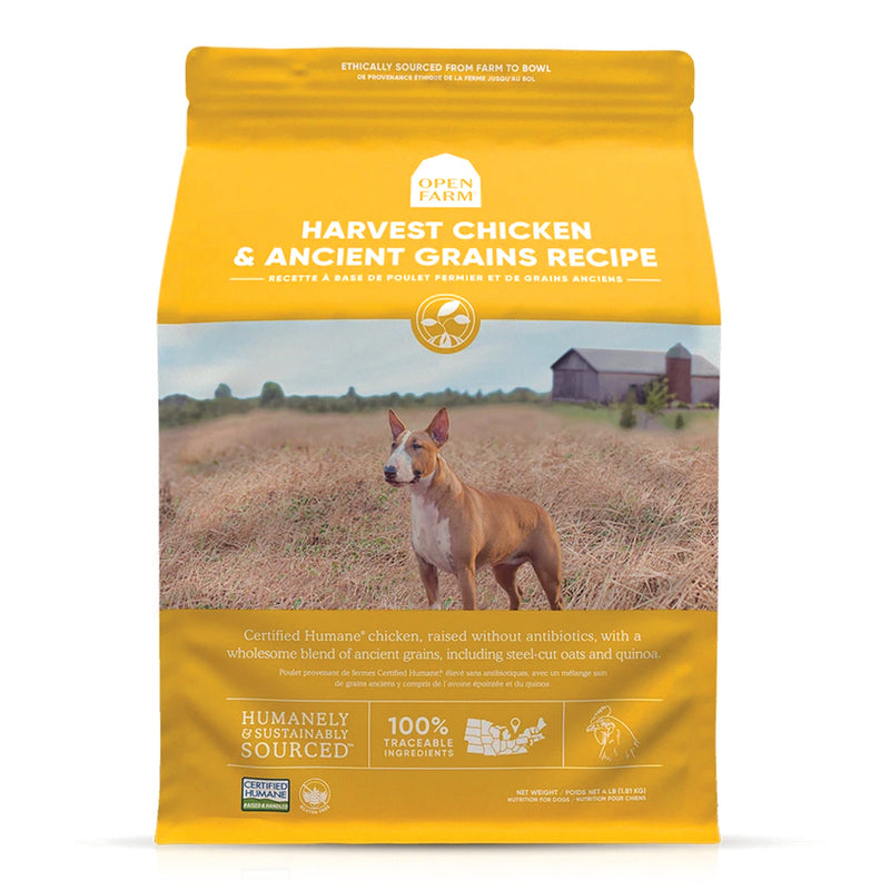 Open Farm Harvest Chicken & Ancient Grains Dog Food