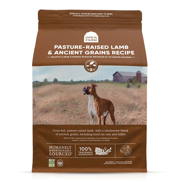 Open Farm Pasture-Raised Lamb & Ancient Grains Dog Food
