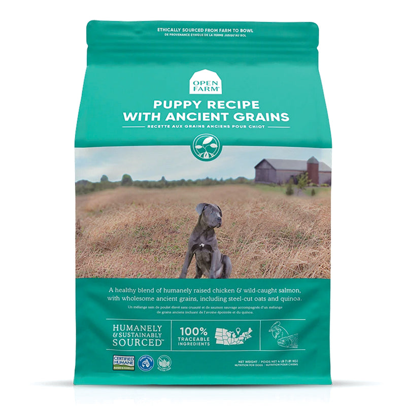 Open Farm Ancient Grains High-Protein Puppy Dog Food