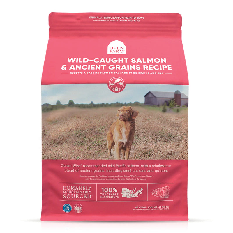 Open Farm Wild-Caught Salmon & Ancient Grains Dog Food