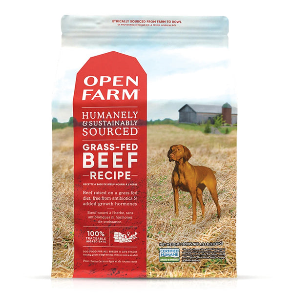 Open Farm Grass-Fed Beef Dog Food