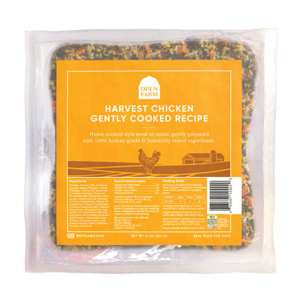 Open Farm Harvest Chicken Gently Cooked Dog Food