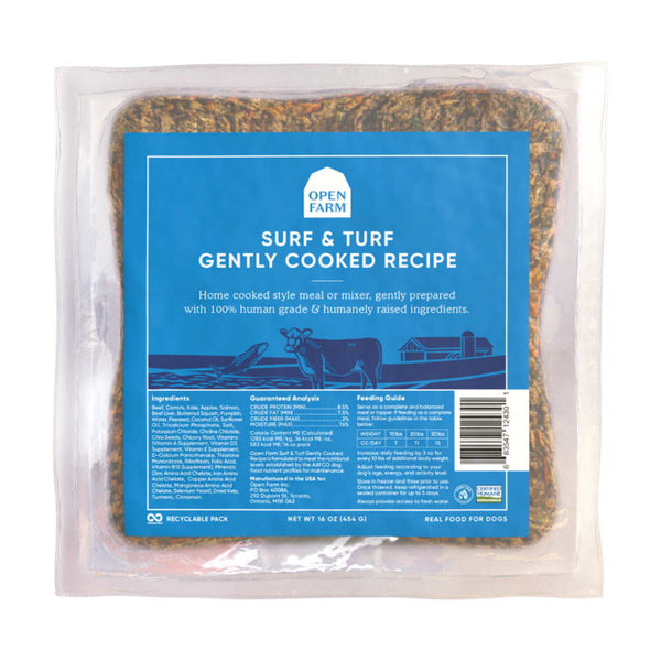 Open Farm Surf & Turf Gently Cooked Dog Food