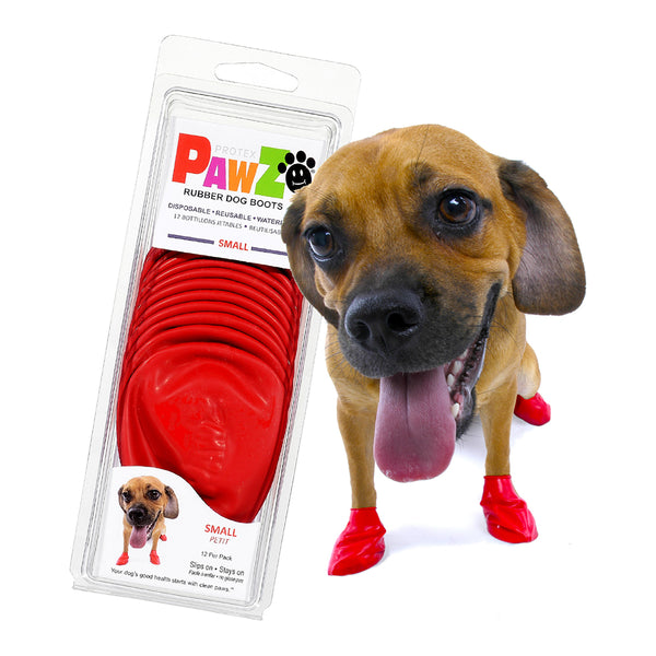 Pawz Rubber Boots for Dogs