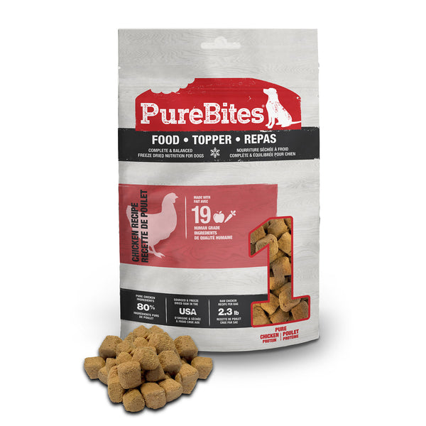 PureBites Chicken Dog Food Topper