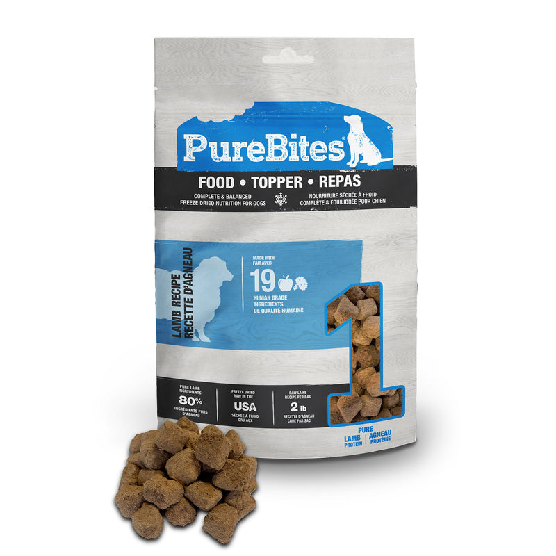 PureBites Lamb Dog Food Topper