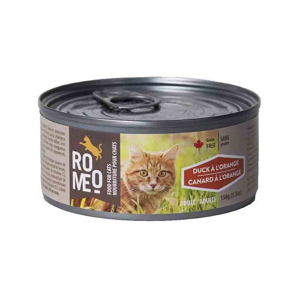 Romeo Duck a l'Orange Cat Wet Food