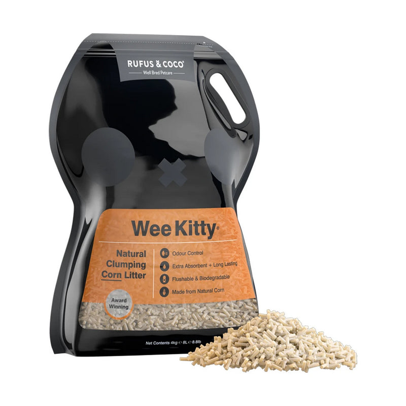 Rufus & Coco Wee Kitty Clumping Cat Litter