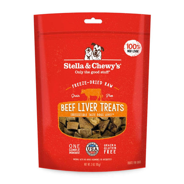Stella & Chewy's Beef Liver Single-Ingredient Dog Treats
