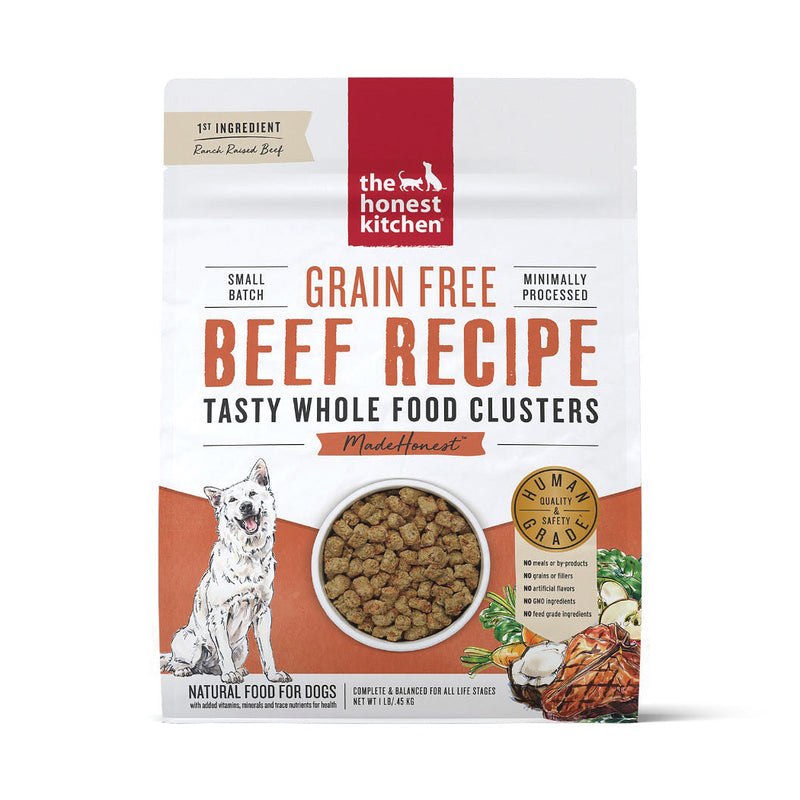 The Honest Kitchen Whole Food Clusters Beef Dog Food