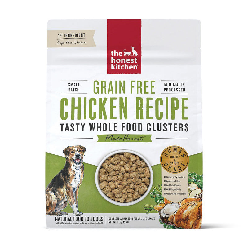 The Honest Kitchen Whole Food Clusters Chicken Dog Food