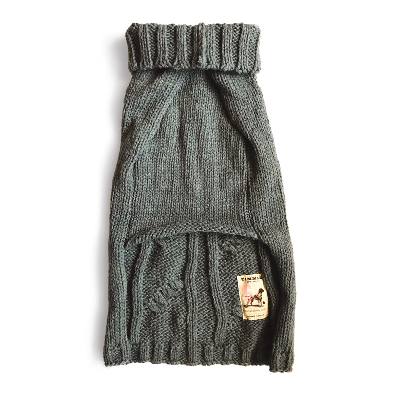 Timmie Cable Knit Sweater for Dogs