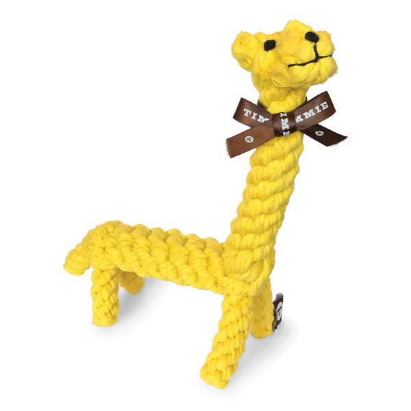 Timmie Gerrard the Giraffe Dog Rope Toy
