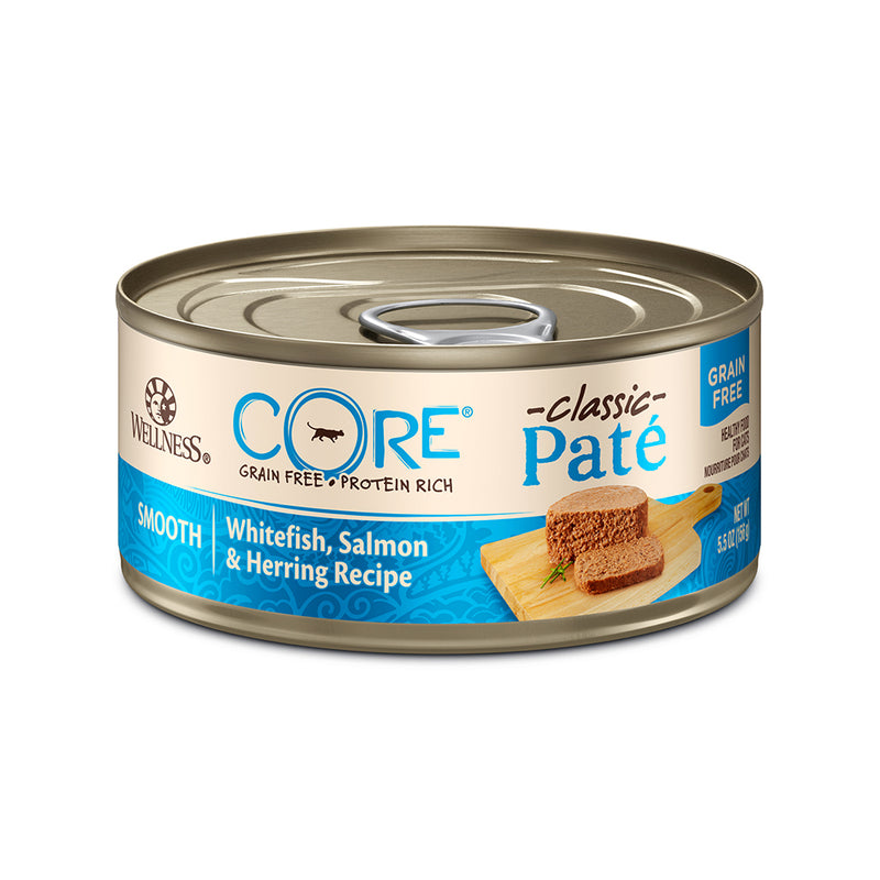 Wellness CORE Pâté Whitefish, Salmon & Herring Cat Wet Food