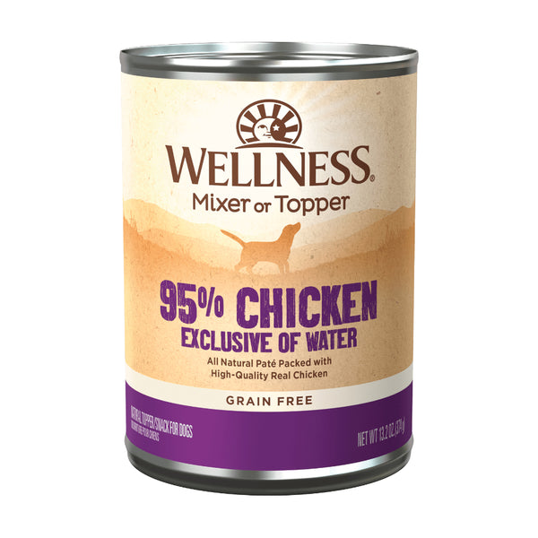 Wellness 95% Chicken Dog Wet Food