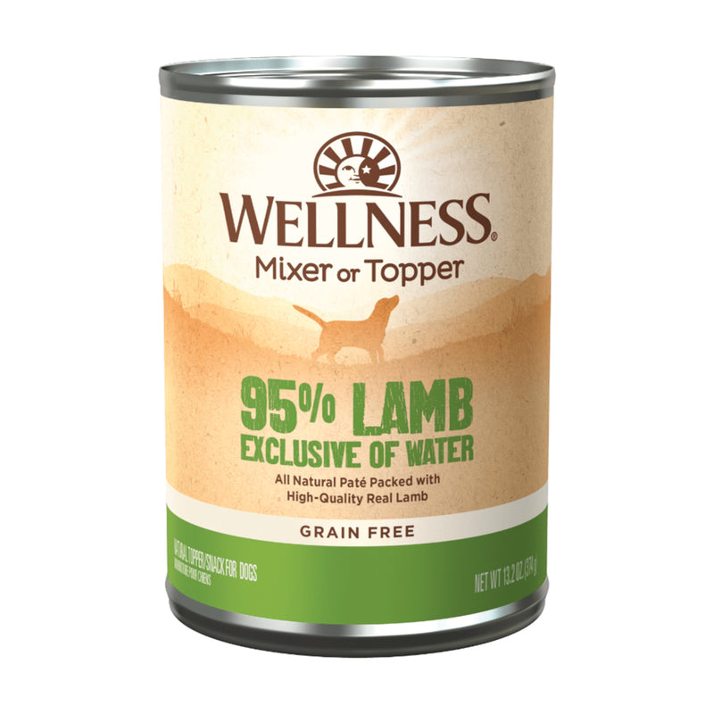 Wellness 95% Lamb Dog Wet Food