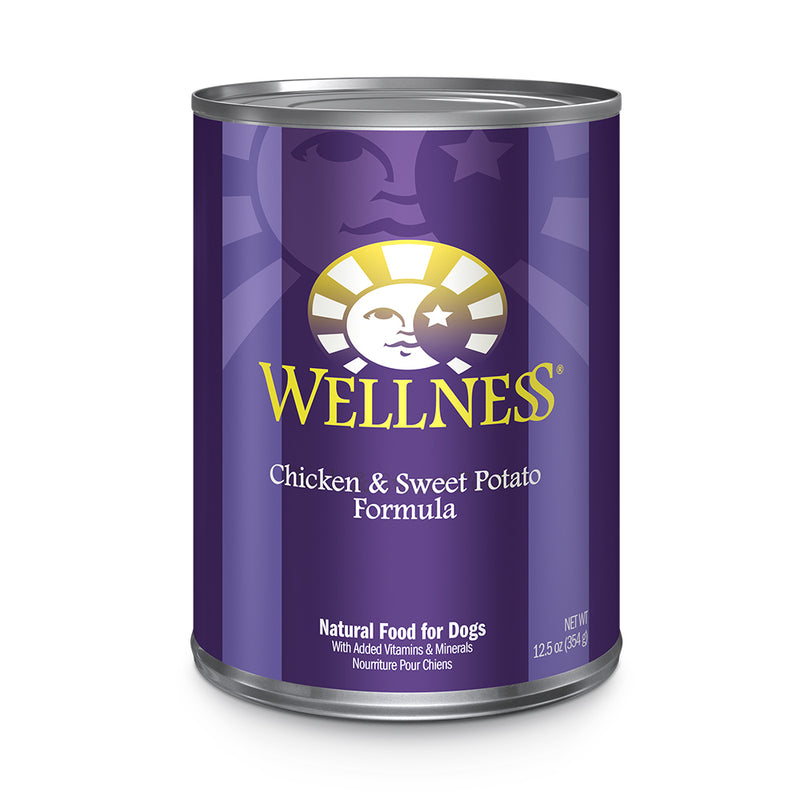 Wellness Complete Health Pâté Chicken & Sweet Potato Dog Wet Food