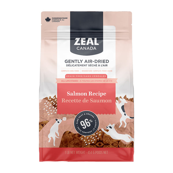 Zeal Canada Gently Air-Dried Salmon Dog Food