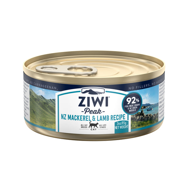 ZIWI Peak Mackerel & Lamb Cat Wet Food