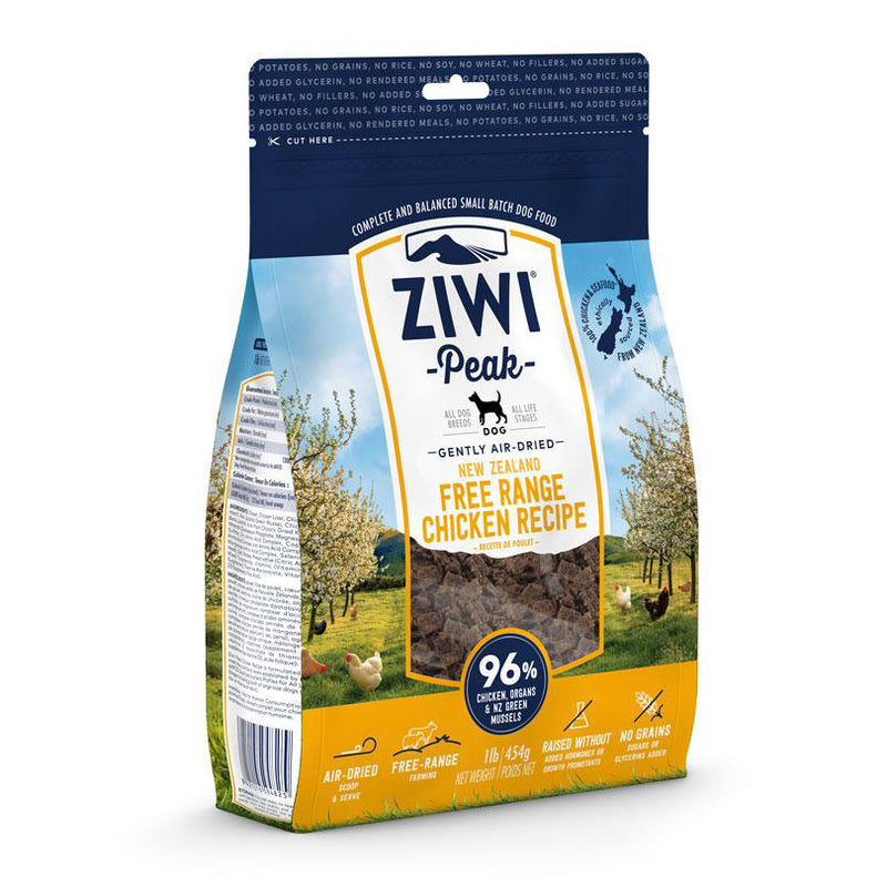 ZIWI Peak Air-Dried Chicken Dog Food