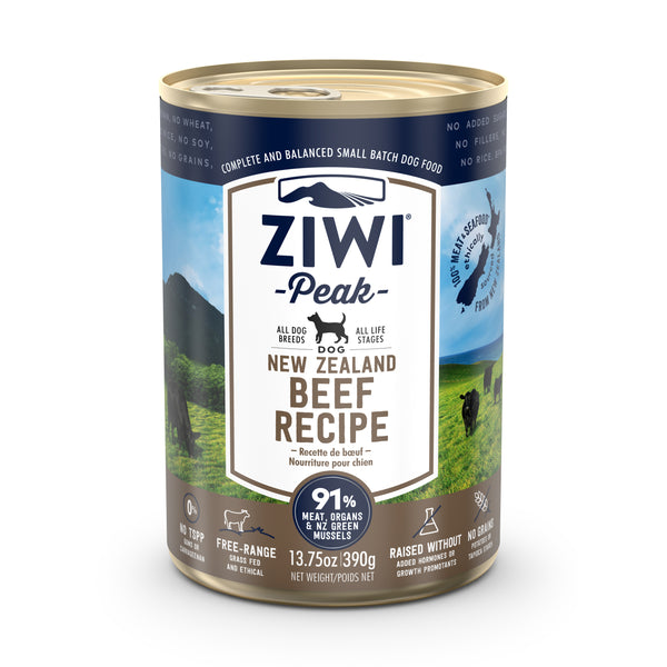 ZIWI Peak Beef Dog Wet Food, 390g