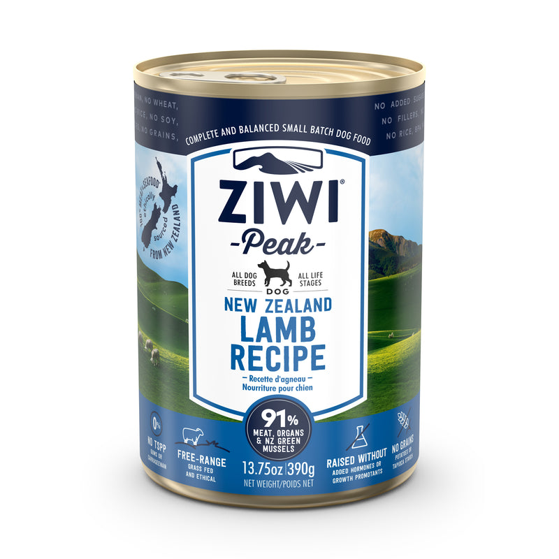 ZIWI Peak Lamb Dog Wet Food
