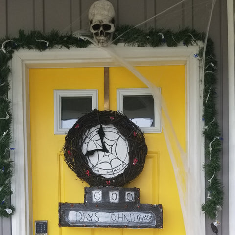 18' Halloween town sign