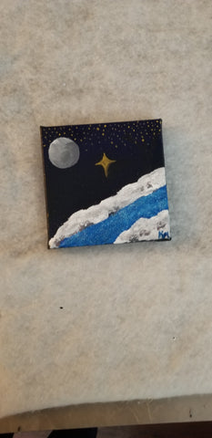 """Star of Wonder "" 6x6"