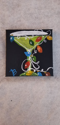 """Cheers of joy"" . 5x11"