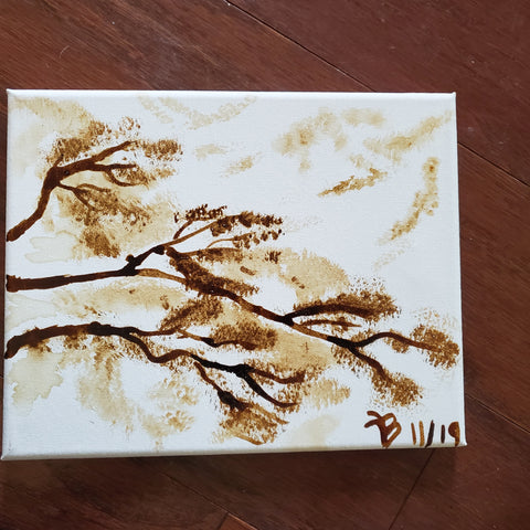 """Coffee Berries "" 8x10 Coffee Art"
