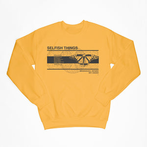 Gold Moth Crewneck
