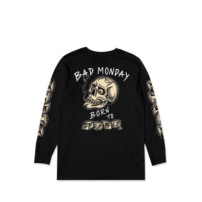 Born To Lose Black L/S Tee