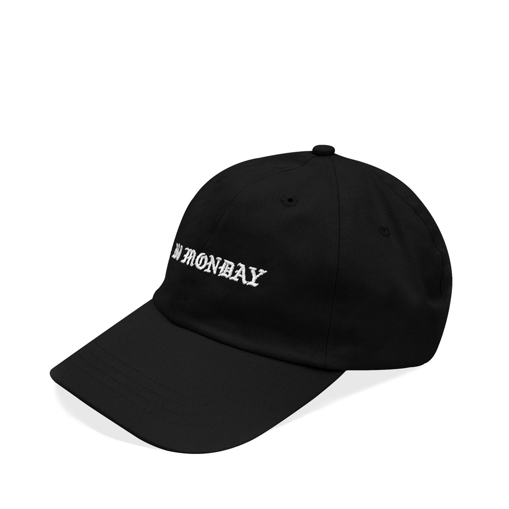 Gothic Dad Hat Black