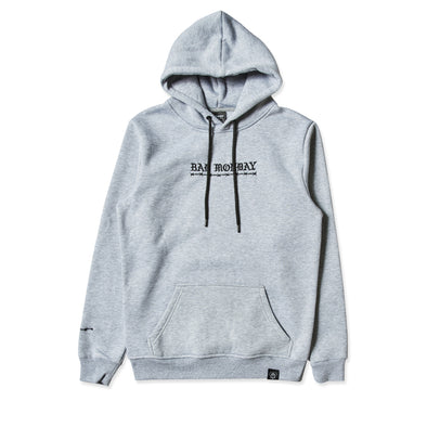 Core Embroidered Grey Hoodie