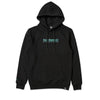 Core Embroidered Black Hoodie