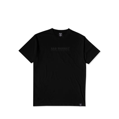 Core Reflective Black Tee