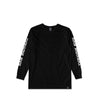 Barbed Wire Heart L/S Black