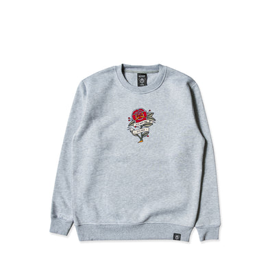 It's Not Me Grey Crew Sweater [Limited Edition]