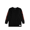 Rocket Girl Black L/S Tee