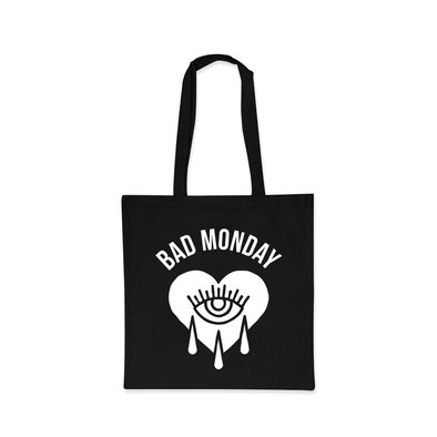 Black Bad Monday Tote Bag
