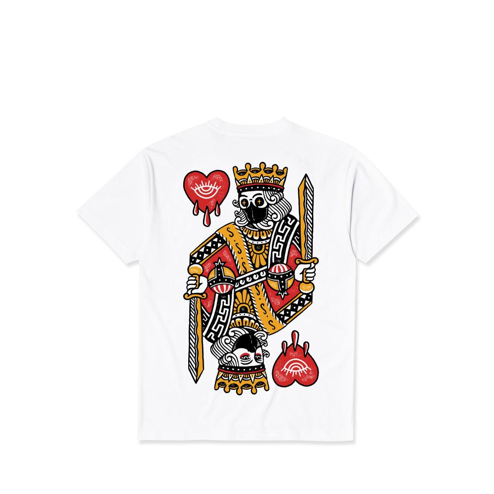 King of Hearts Mask Tee