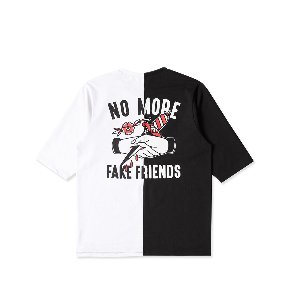 Fake Friends Split Boxy Tee