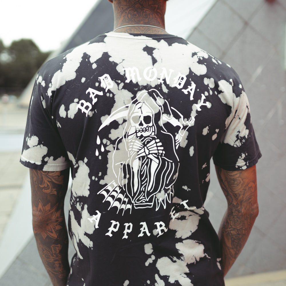 Acid Wash Reaper Graphic Tee