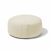 Organic Round Meditation Cushion - vanilla