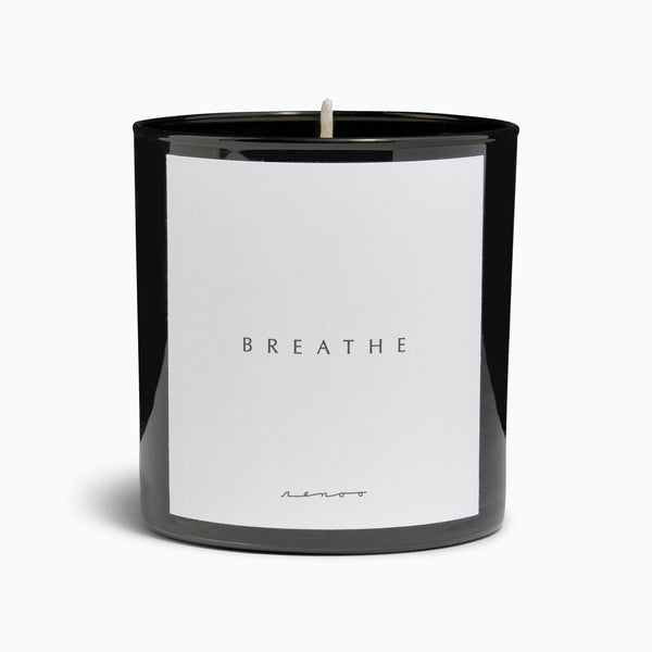 Essential Oil Meditation Soy Candle - Fig Tree - Breathe
