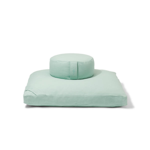 Organic Meditation Cushion Set - meadow