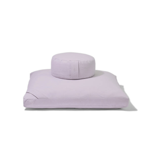 Organic Meditation Cushion Set - mist