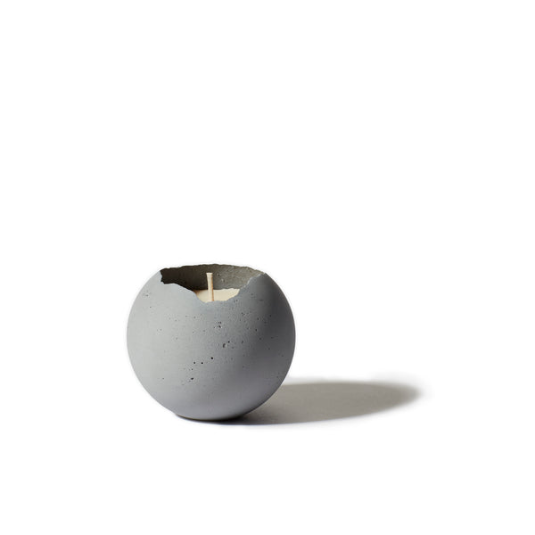 Orbis Concrete Candle - Natural Gray